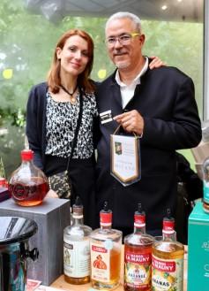 4. Con Daniel Baudin, Maitre de chai presso Maison Trois Rivières e La Mauny